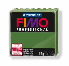 Fimo 'Professional' 85 g - Vert feuille