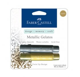 Lot de 2 Gelatos ' Faber-Castell' Metallic