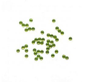 Strass thermocollants 'Toga' Vert anis 6mm x 50