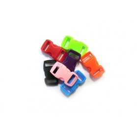 Lot de 100 Clips Créacord 'PW' Multicolores