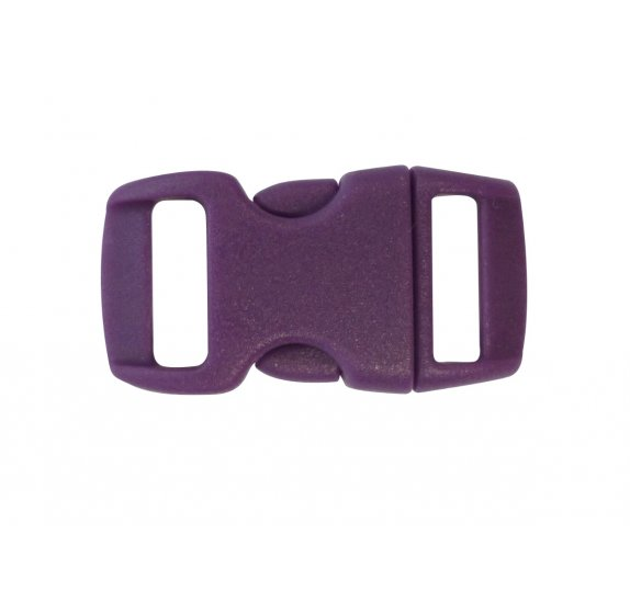 Lot de 10 Clips Créacord 'PW' Violet