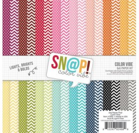 Assortiment 15x15 'Simple Stories' Snap! Color Vibe II