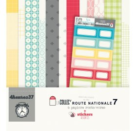 Assortiment 30x30 '4 Heures 37' Route Nationale 7