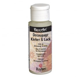 Vernis colle 'Rayher - DecoMaché' Mat 59 ml