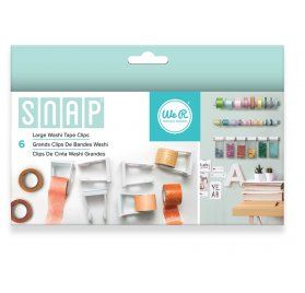 Grandes pinces pour masking tape 'We R Memory Keepers - Snap Storage' Qté 6