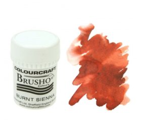 Pigment en poudre 'Colourcraft - Brusho' Burnt Sienna 15g