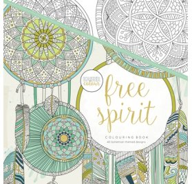 Livre de coloriages 'Kaisercraft - Kaisercolour' Free Spirit