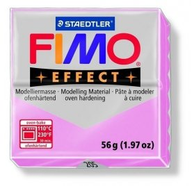 Pâte Fimo - Effect -  56g - Rose