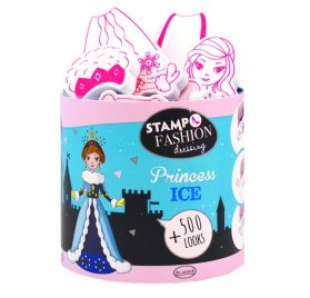 Kit Stampo Fashion Dressing 'Aladine' Princess Ice