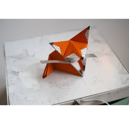 tuto r aliser un renard origami par mini reyve. Black Bedroom Furniture Sets. Home Design Ideas