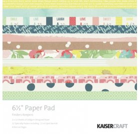 Assortiment 15x15 'Kaisercraft - Finder Keepers' Qté 36