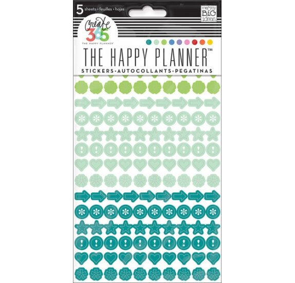 Autocollants 'Me & My Big Ideas - The Happy Planner' Colorful Dots