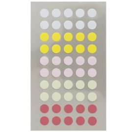 Autocollants 'Rico Design - Paper Poetry' Points pastels 8mm