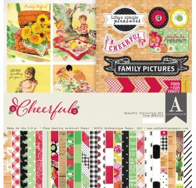 Kit 30x30 'Authentique' Cheerful