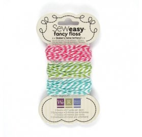 Lot de 3 Fils 'We R Memory Keepers' Baker's Twine Tertiary