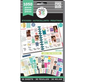 Bloc d'autocollants 'Me & My Big Ideas - The Happy Planner' This Colorful Life Qté 1050