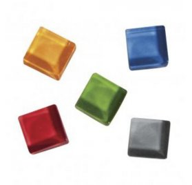 Kit Mosaïque 'Rayher - Soft Glass' Coloré 1x1 cm 500g