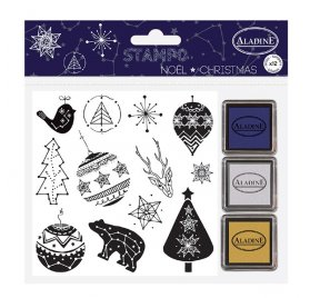 Kit Stampo 'Aladine' Noël Constellation