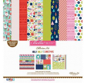 Assortiment 30x30 'Bella Blvd - Holly Jolly Christmas' Collection Kit