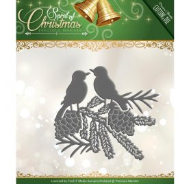 Die/Matrice de découpe 'Precious Marieke - Spirit of Christmas' Spirited Birds