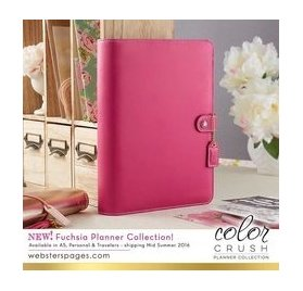Organiseur A5 Personal Planner 'Webster's Pages - Color Crush' Fuchsia (vide)