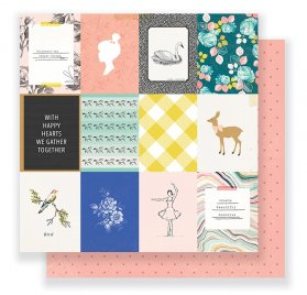 Papier double 30x30 'Crate Paper - Gather' Sweet Life