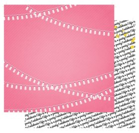Papier double 30x30 'Fancy Pants - Joy Parade' Love Pretty Garlands
