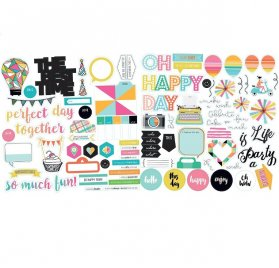 Die-cuts 'Fancy Pants - Joy Parade' Ephemera Pack
