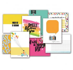 Cartes 7.5x10 cm 'Fancy Pants - Joy Parade' Qté 36