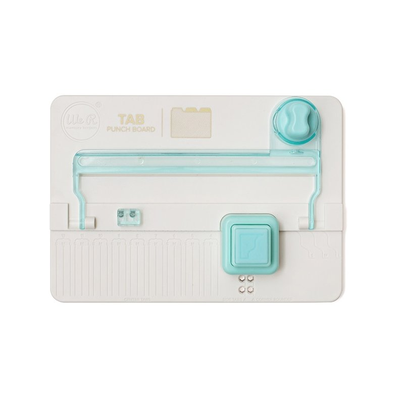 Tab Punch Board We R Memory Keepers Cr 233 Er Des Onglets 224