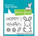 Tampons transparents 'Lawn Fawn' Hoppy Easter