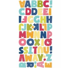 Die-cuts 'Jillibean Soup - Souper Celebration' Alphabet Qté 57