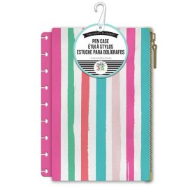 Trousse pour organiseur 'Me & My Big Ideas - The Happy Planner' Rayures