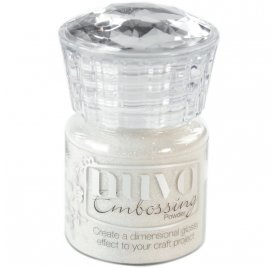 Poudre à embosser 'Nuvo - Glitter Embossing' Shimmering Pearl