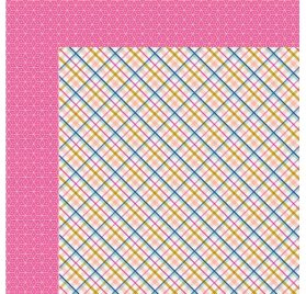 Papier double 30x30 'Fancy Pants - Millie & June' My BFF