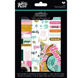 Kit embellissements 'Bella Blvd - Gratitude Documented' Qté 45