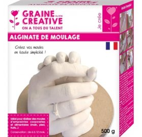 Alginate de moulage 'Graine Créative' 500 g