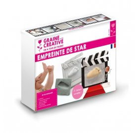 Kit Alginate de moulage 'Graine Créative' Empreinte de star
