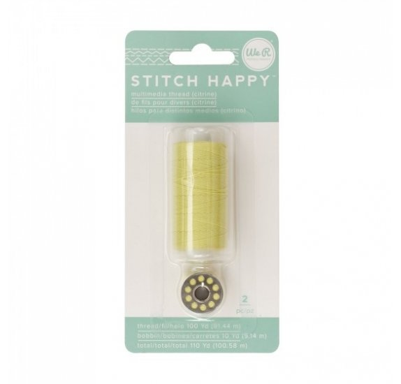 Fil pour couture 'We R Memory Keepers - Stitch Happy' Citrine