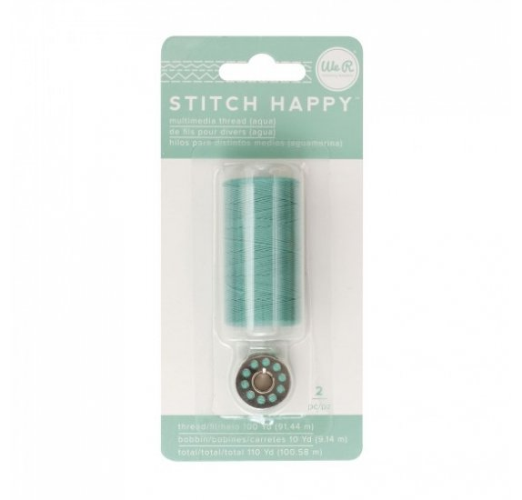 Fil pour couture 'We R Memory Keepers - Stitch Happy' Bleu