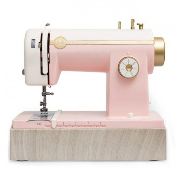 Machine à coudre 'We R Memory Keepers - Stitch Happy' Rose