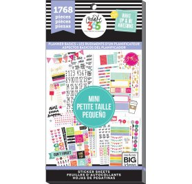 Bloc d'autocollants 'Me & My Big Ideas - The Happy Planner' Planners Basics Qté 1768