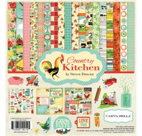 Assortiment 30x30 'Echo Park Paper - Country Kitchen' Kit