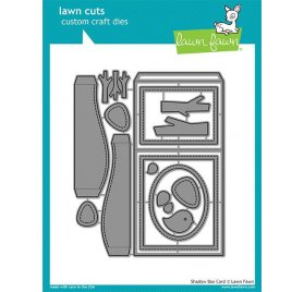 Dies / Matrices de découpe 'Lawn Fawn' Carte Shadow Box