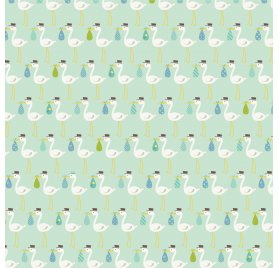 Papier double 30x30 'Echo Park Paper - Sweet Baby Girl' New arrival