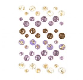 48 Strass à coller 'Prima - Lavender' Say It In Crystals
