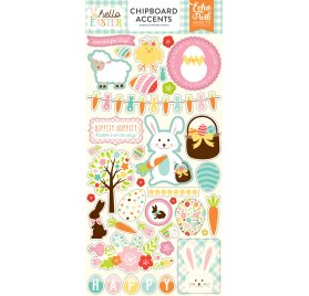 Chipboards 'Echo Park Paper - Hello Easter'  Accents