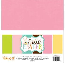Assortiment 30x30 'Echo Park Paper - Hello easter'