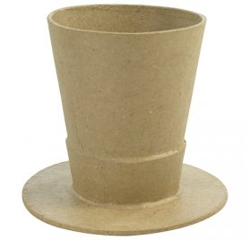 Vase 'Decopatch' Chapeau