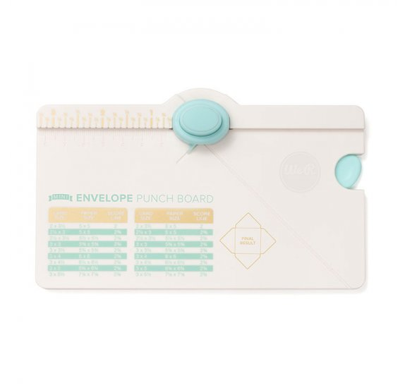 Mini Envelope Punch Board 'We R Memory Keepers'